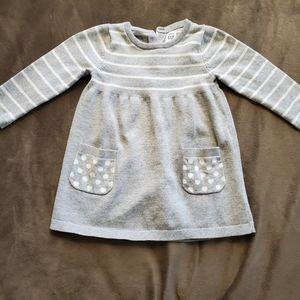 Baby Gap Grey Knit Dress